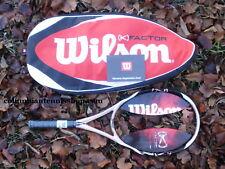 New Wilson K Zen Team FX racket + case 103 Rose/wh/blk MP Pink 3/8 3 Org $219.99