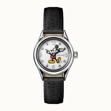 Ladies Disney by Ingersoll Mickey Mouse Black Strap Watch Model ID00902