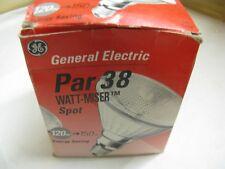 1 x GE Watt-Miser PAR 38 120W 240V E27 ES SPOT Light Bulb Lamp Patterned Glass