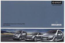 Brabus Smart Accessories TUNING ACCESSORI prospetto 2005 auto prospetto opuscolo auto