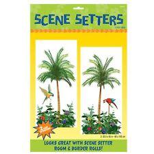 5ft Hawaiian Tiki Beach Party Tropical Palm Tree Scene Setter Room Decoration
