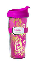 LILLY PULITZER Insulated Thermal Mug - GIMME SOME LEG - Pink Flamingo Travel Cup