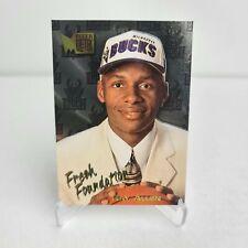 1996-97 Fleer Metal Ray Allen Fresh Foundations Rookie Rc #136