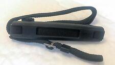 Genuine Vintage Minolta Black Fabric Camera Strap, with rubber neck pad