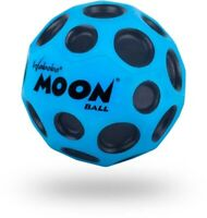 Original OEM Waboba Moon Ball Extreme Bouncing Crazy Spinning Ball Blue