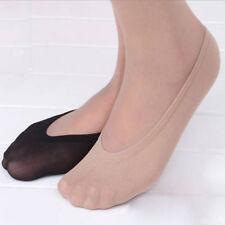 LADIES INVISIBLE TRAINER PUMPS LINER SOCKS NO SHOW DESIGN SECRET FOOTSIES 3 PAIR