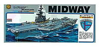 USS Aircraft Carrier Midway CVA-41 1/800 Scale Plastic Model Kit No.8 Micro Ace