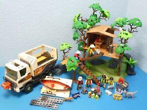 Adventure Truck Baumhaus Figuren zu 5557 4839 3217  Playmobil 1354