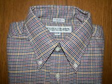 NWT INDIVIDUALIZED DRESS SHIRT 15 32 FOX BROTHERS FLANNEL