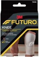 3M Futuro Knee Comfort Support Mild Comfort Large 1 Count (Pack of 2)