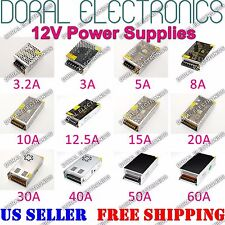 110V 220V DC 12V 10A 15A 20A 30A 40A 50A 60A 3A 5A Power Supply LED Strip Light