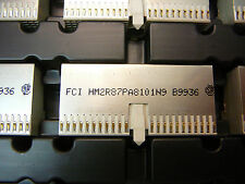 FCI Connector Daughter Card F 176-Pos 2mm Press-Fit R/A Thru-Hole *NEW* 1/PKG