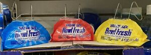 BOWL FRESH Odors Eliminator, Hangs on Rim, (3 Pack) Bathroom, Large 4 oz. NEW