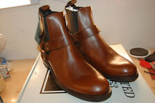 FRYE Mens Stone Harness Chelsea Motorcycle Boot Leather NIB 11 Med $360 whiskey