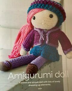 Crochet Pattern for a Amigurumi Doll  - CR40