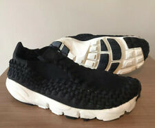 NIKE AIR FOOTSCAPE WOVEN TRAINERS BLACK UK9, EUR44, 917698 001, GENUINE, UNISEX