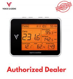 New Swing Caddie SC300 Golf Portable Launch Monitor - Black (Voice Caddie)
