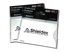 4 x  RFID Blocking Shieldex Credit Card Protector Sleeve Anti Theft Scan Safe