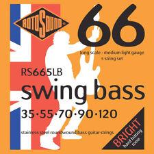 Rotosound Rs-665lb Set per basso 5 Corde