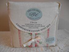 Rachel Ashwell Treasures Cornwall Comforter Cover Mini Set Twin Roses NEW