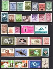 THAILAND selection 31 stamps mint hinged some unhinged