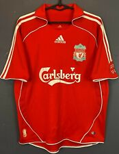 Adidas Fc Liverpool 2006/2007 Home Soccer Football Shirt Jersey Size Youth Xl