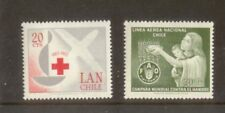 K672 1966 Colombia red cross (MNH) mix
