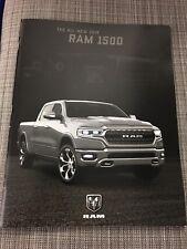 2019 DODGE RAM 1500 76-page Original Sales Brochure