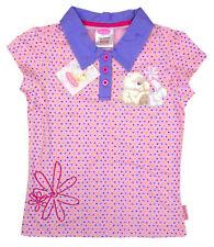 T-shirts, hauts et chemises roses pour fille de 2 à 16 ans en 100% coton, taille 6 - 7 ans