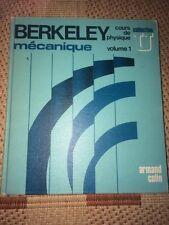 Berkeley, Cours de physique mécanique,  Volume 1 (1978) - Epuisé