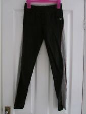 ladies black/grey leggings from M&S size 8