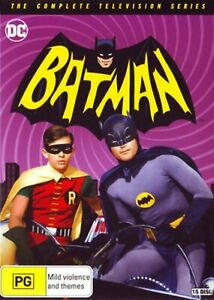 Batman Complete 1966 TV Series Season 1 2 3 1-3 DVD Box Set Region 4 R4