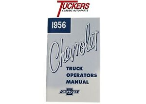 1956 Chevy Truck Owners Operators Manual