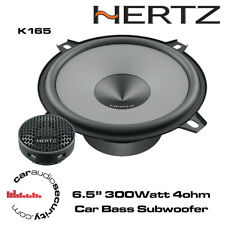 """Hertz UNO K165 - 16.5cm 6.5"""" 2-Way Car Audio Component Speakers 300W"""