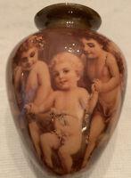 Vintage Cherub Vase-May Be House Of Lloyd's