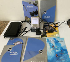 Palm Pilot m515 Pda Hand Held Organizer with Case, Dock, Ac Adapter, Instr. Book