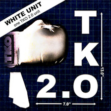 TKO 2.0 Gimmick only (white) by Jeff Kaylor from Murphy's Magic