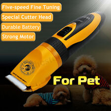 Professional Pet Cat Dog Clipper Grooming Kit Pet Hair Trimmer Electric Shaver