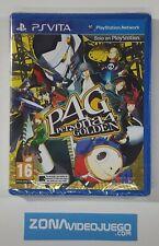 Persona 4 Golden, Sony Playstation Vita, Pal-Esp. Nuevo.