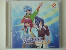 Tokimeki Memorial 3 Game Sound Soundtrack Anime CD 10T Konami KICA-7733
