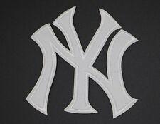 """NEW YORK YANKEES INTERLOCKING PATCH h3-1/8"""" x w3-1/8"""", NY YANKEES LOGO (NY-58)"""