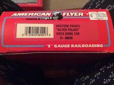 "Vintage American Flyer Western Pacific ""Silver Palace"" Vista Dome Car 6-48929"