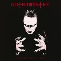 GOTHMINISTER - GOTHIC ELECTRONIC ANTHEMS - ( RE-RELEASE ) - CD - NEW!!!