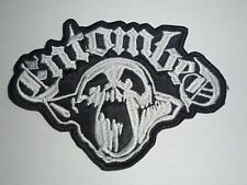 ENTOMBED DEATH METAL EMBROIDERED PATCH