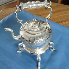 Vintage Silver Tea Kettle