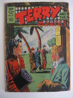 TERRY AND THE PIRATES FOUR COLOR COMICS #44 (#5) 1943 Guide $30 Caniff