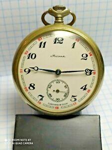 "Vintage pocket watch USSR ""Molniya"" workers"