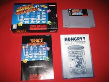 Space Invaders Super Nintendo SNES Game Complete Opened New