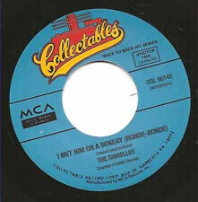 """THE SHIRELLES - I Met Him On A Sunday  7"""""""