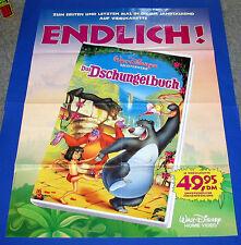 Dschungelbuch === Walt Disney Riesen Poster 60 x 80 cm !!!!